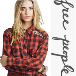 Free people fall flannel